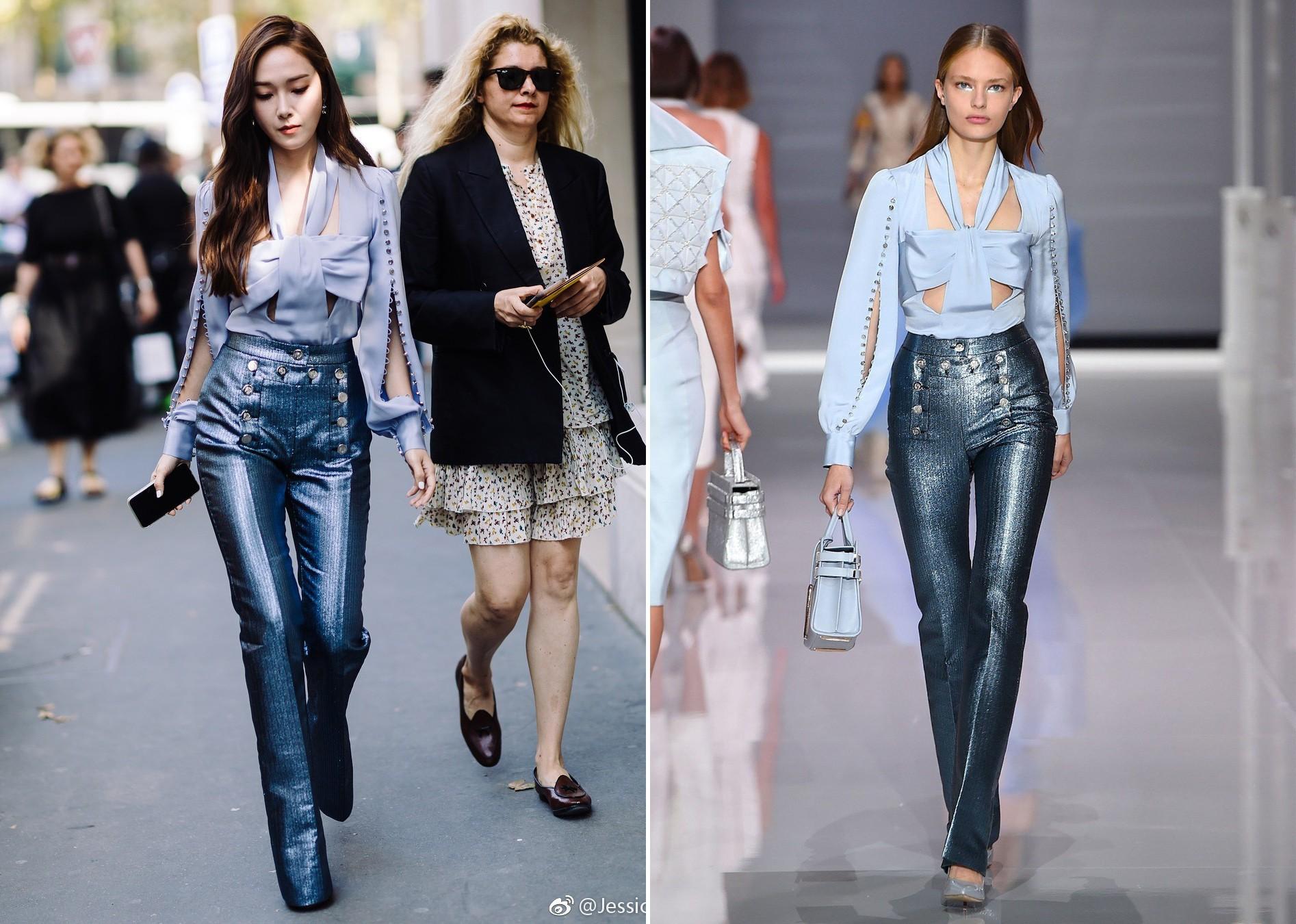 Jessica Jung khoe nhan sắc trong veo và gu thời trang đẳng cấp tại show diễn thời trang - Ảnh 6.