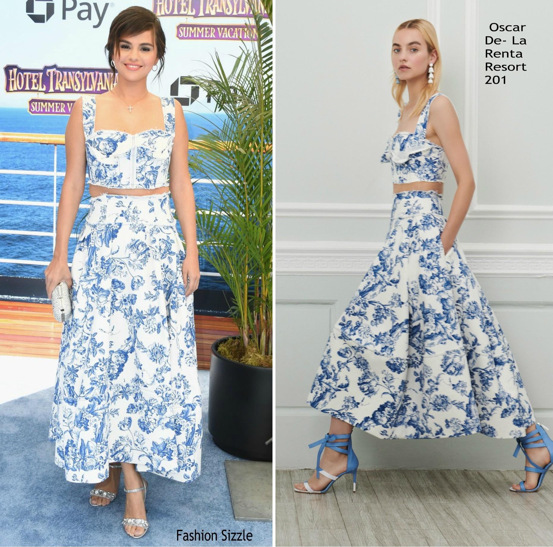 Mang cùng một kiểu họa tiết hoa nhưng chiếc váy của Công nương Meghan Markle lại đắt gấp đôi của Selena Gomez - Ảnh 5.