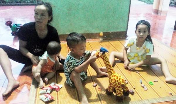 Vĩnh Phúc: Xót lòng cảnh mẹ 9x mất do bạo bệnh, bỏ lại 3 con thơ mồ côi - Ảnh 1.