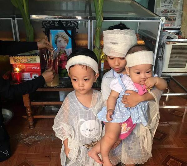 Vĩnh Phúc: Xót lòng cảnh mẹ 9x mất do bạo bệnh, bỏ lại 3 con thơ mồ côi - Ảnh 4.