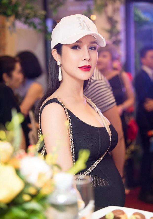 """Bà bầu """"ngầu nhất showbiz"""" chắc hẳn thuộc về Diệp Lâm Anh, bởi bụng càng to diện đồ lại càng chất  - Ảnh 12."""