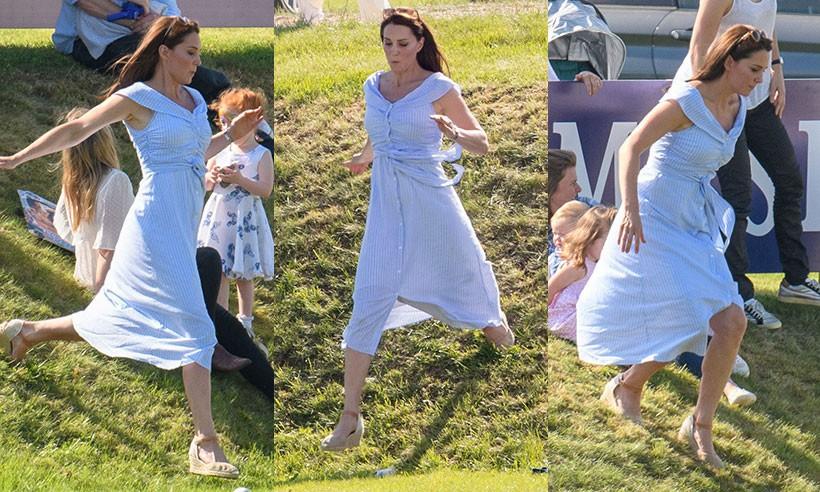 Chỉ cần Nữ hoàng Anh có mặt, công nương Kate Middleton sẽ không bao giờ đi kiểu giày này - Ảnh 1.
