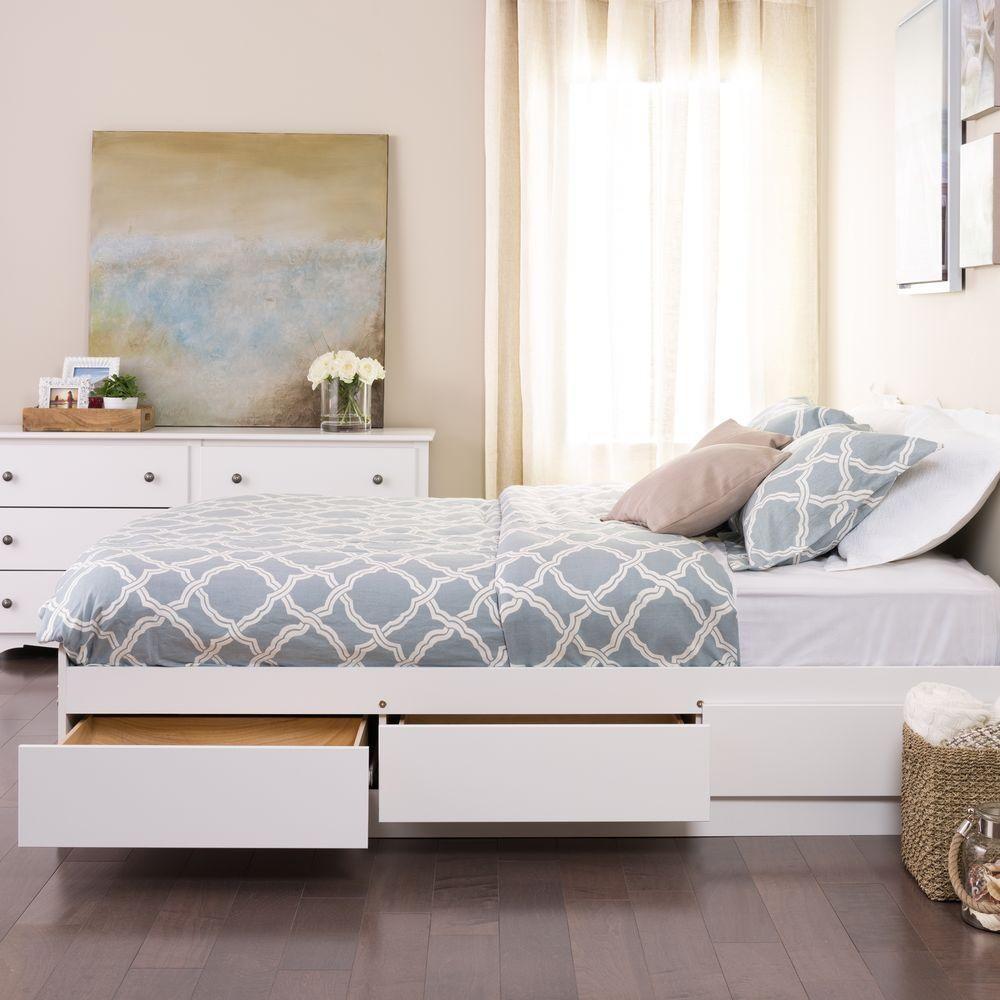 Phòng ngủ nhỏ rộng thênh thang với 8 kiểu giường lưu trữ siêu hoàn hảo dưới đây - Ảnh 3.
