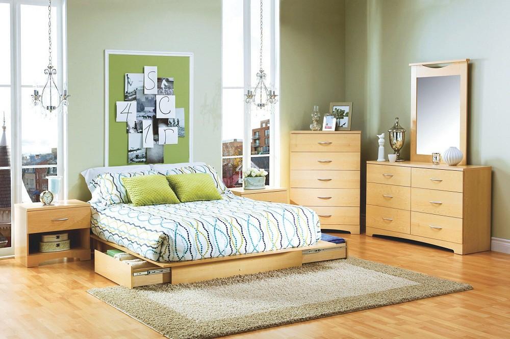 Phòng ngủ nhỏ rộng thênh thang với 8 kiểu giường lưu trữ siêu hoàn hảo dưới đây - Ảnh 4.