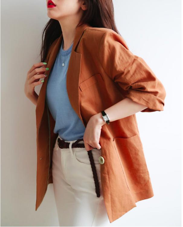 Không phải cứ dài là đẹp, áo blazer năm nay tay càng ngắn lại càng thú vị - Ảnh 15.