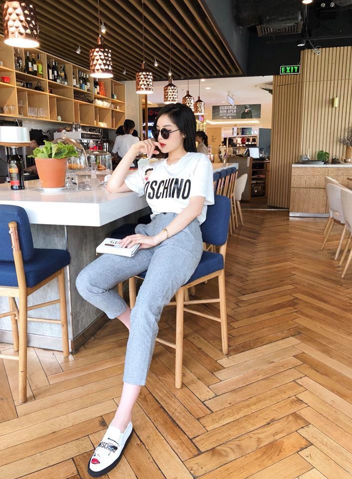 Street style sao Việt tuần này: Hà Hồ - Minh Tú đụng độ ngay thiết kế áo phông trắng giá 300 ngàn - Ảnh 3.
