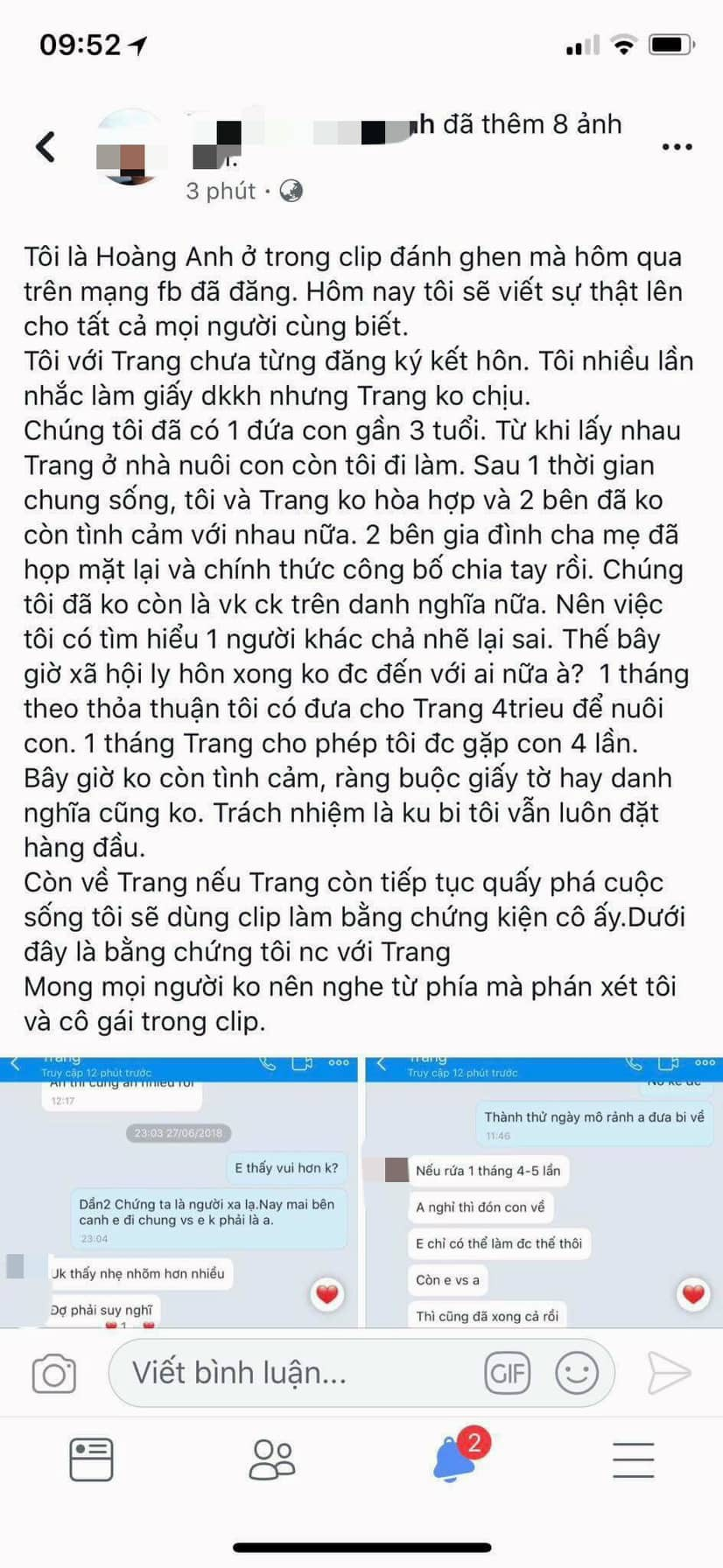 Vụ đánh ghen ở Nghệ An: Người chồng lên tiếng nếu cô ấy còn quấy phá tôi sẽ kiện - Ảnh 1.