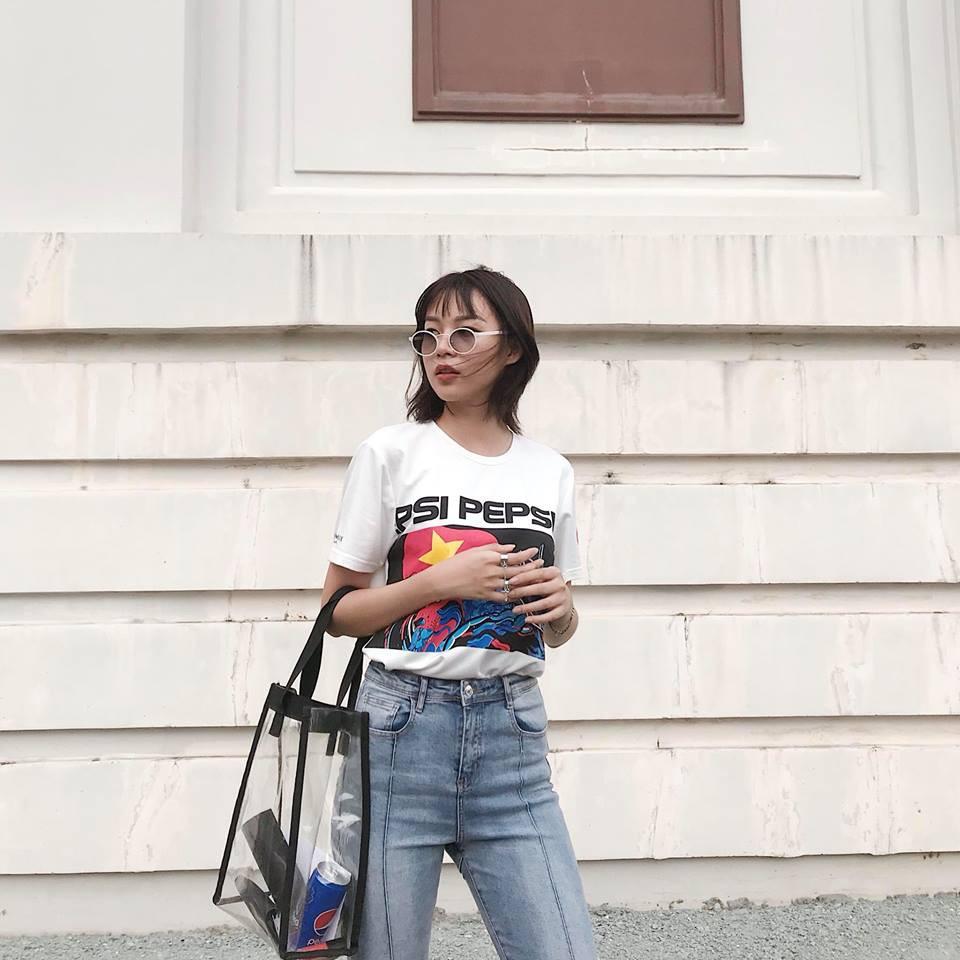 Street style sao Việt tuần này: Hà Hồ - Minh Tú đụng độ ngay thiết kế áo phông trắng giá 300 ngàn - Ảnh 13.