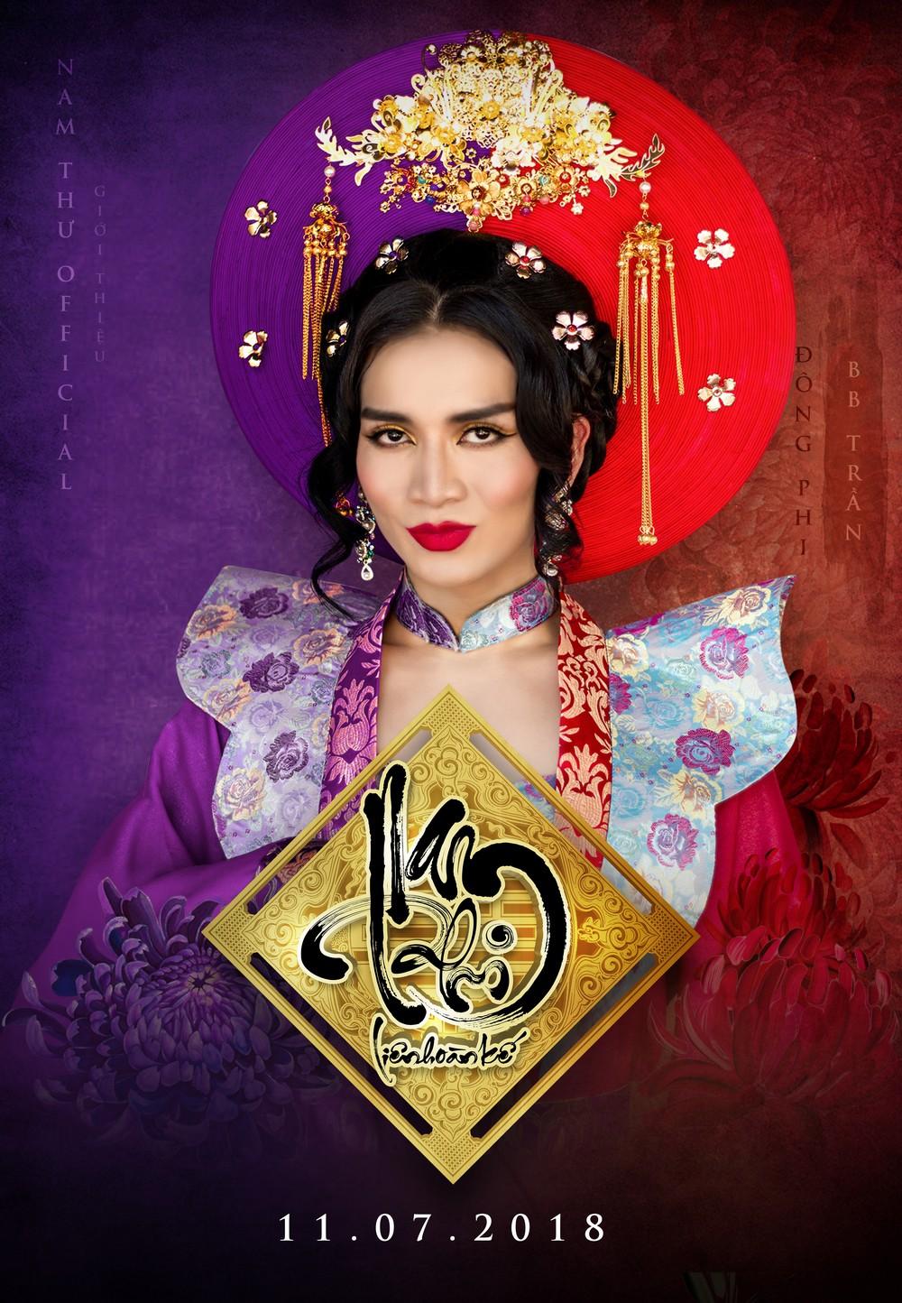 Kiều nữ làng hài Nam Thư chơi liều làm phim cổ trang hậu cung đấu đá  - Ảnh 3.