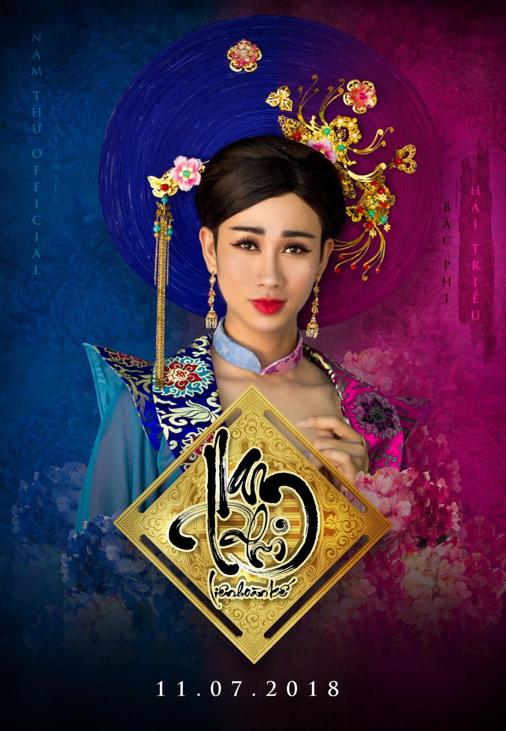 Kiều nữ làng hài Nam Thư chơi liều làm phim cổ trang hậu cung đấu đá  - Ảnh 4.