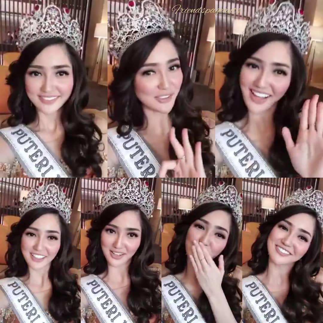 Nhan sắc và phong cách thời trang của Hoa hậu Hoàn vũ Indonesia 2018 được coi là chị em sinh đôi của Bích Phương - Ảnh 7.