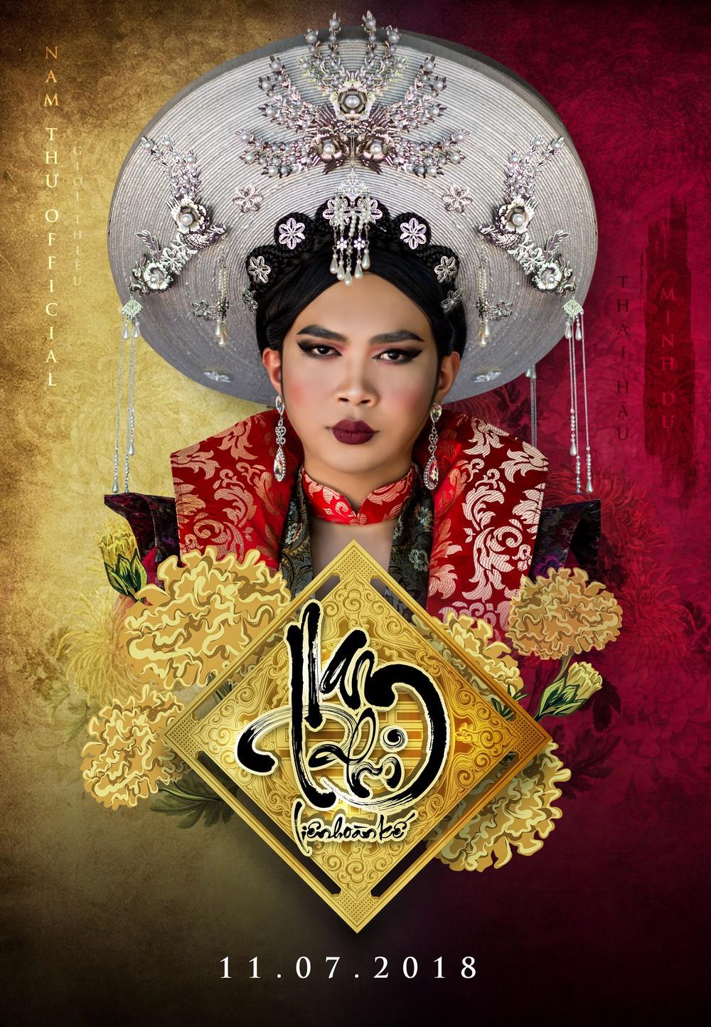 Kiều nữ làng hài Nam Thư chơi liều làm phim cổ trang hậu cung đấu đá  - Ảnh 6.