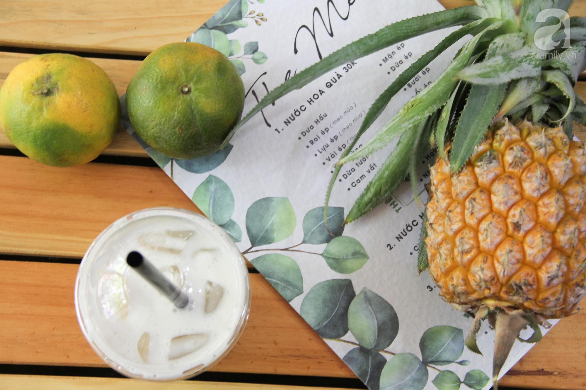 5 quán nước ép trái cây nguyên chất ngon, có dịch vụ giao hàng tận nơi cho những ngày Hà Nội nóng như đổ lửa  - Ảnh 10.