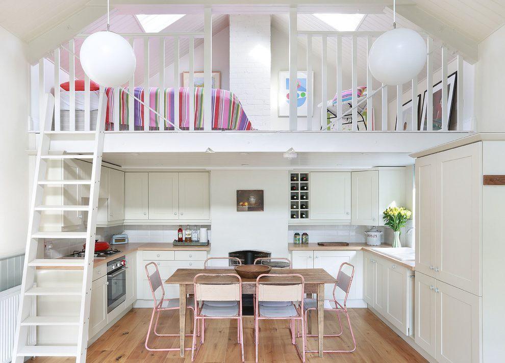 Những kiểu thiết kế gác lửng cho nhà cấp 4 tuyệt đẹp với giá thành hợp lý dành cho vợ chồng trẻ - Ảnh 7.