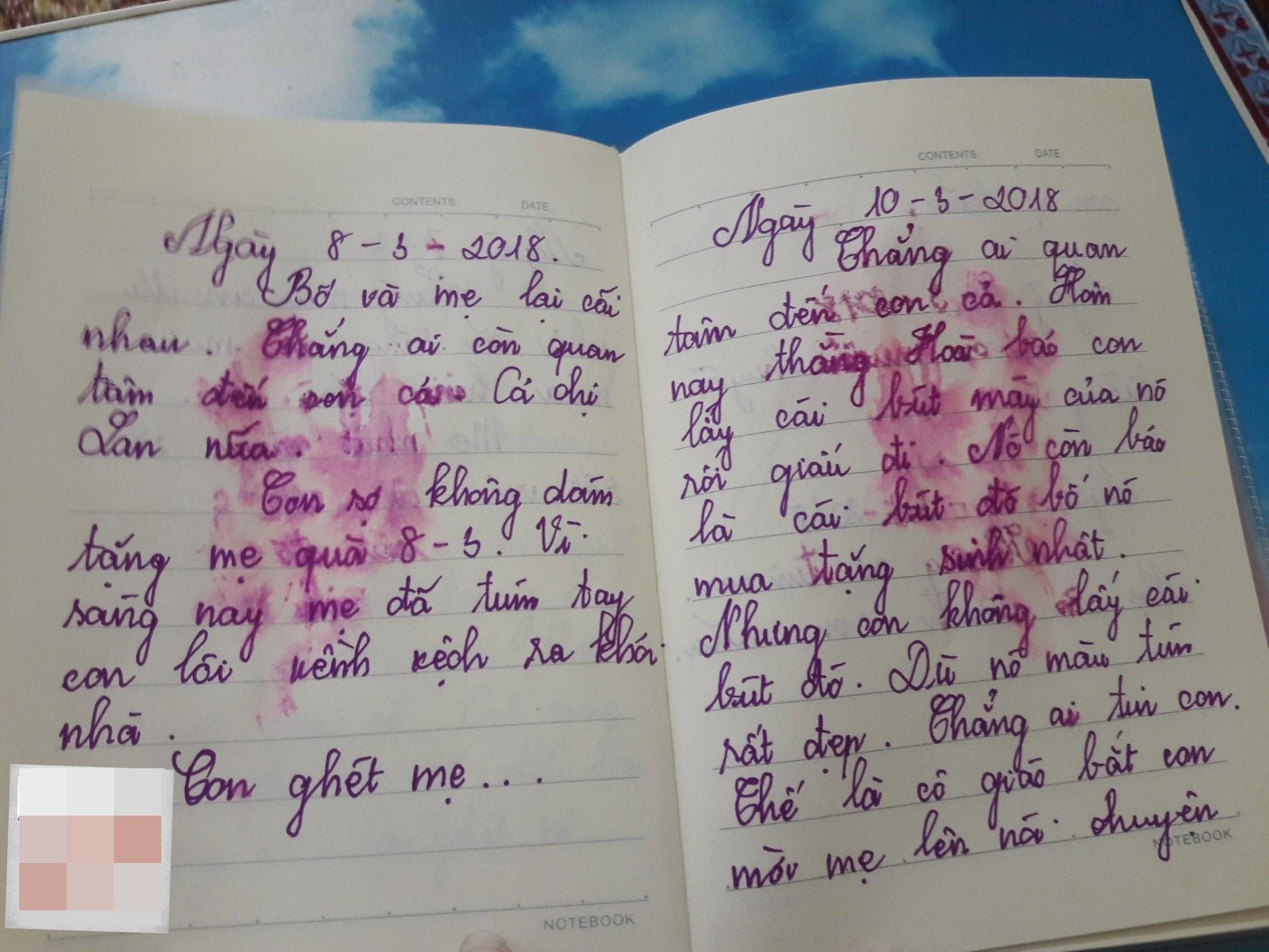 Con không phải là con của bố mẹ phải không? - cuốn nhật ký nhòe nước mắt của bé gái lớp 5 khiến các bậc cha mẹ sững sờ - Ảnh 5.
