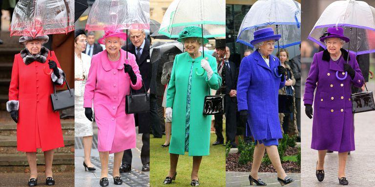 Bình thường màu sắc chói lòa là thế, vậy mà sự kiện này Nữ hoàng Anh lại chọn đồ hoàn toàn trái ngược - Ảnh 2.