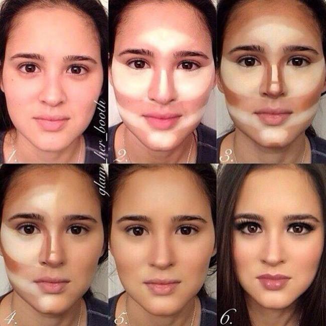 10 mẹo trang điểm nhỏ mà có võ giúp chị em loại bỏ hầu hết các nhược điểm trên khuôn mặt - Ảnh 1.