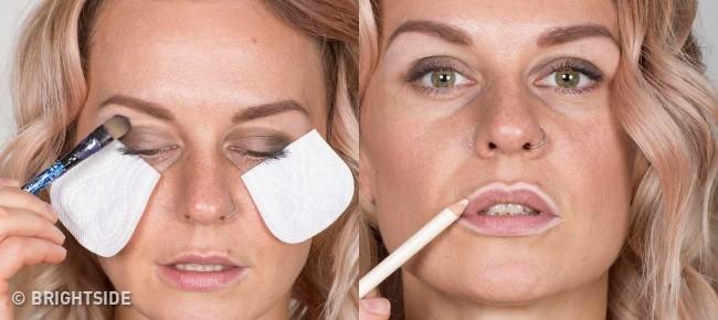 10 mẹo trang điểm nhỏ mà có võ giúp chị em loại bỏ hầu hết các nhược điểm trên khuôn mặt - Ảnh 10.