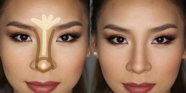 10 mẹo trang điểm nhỏ mà có võ giúp chị em loại bỏ hầu hết các nhược điểm trên khuôn mặt - Ảnh 2.