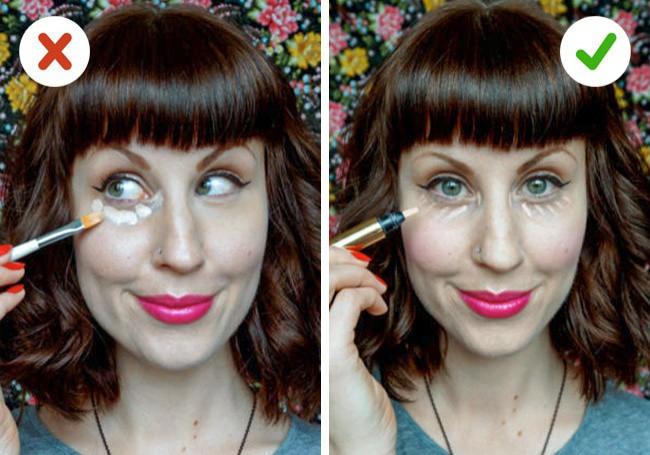 10 mẹo trang điểm nhỏ mà có võ giúp chị em loại bỏ hầu hết các nhược điểm trên khuôn mặt - Ảnh 3.