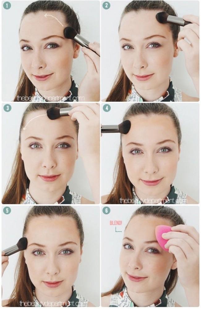 10 mẹo trang điểm nhỏ mà có võ giúp chị em loại bỏ hầu hết các nhược điểm trên khuôn mặt - Ảnh 4.