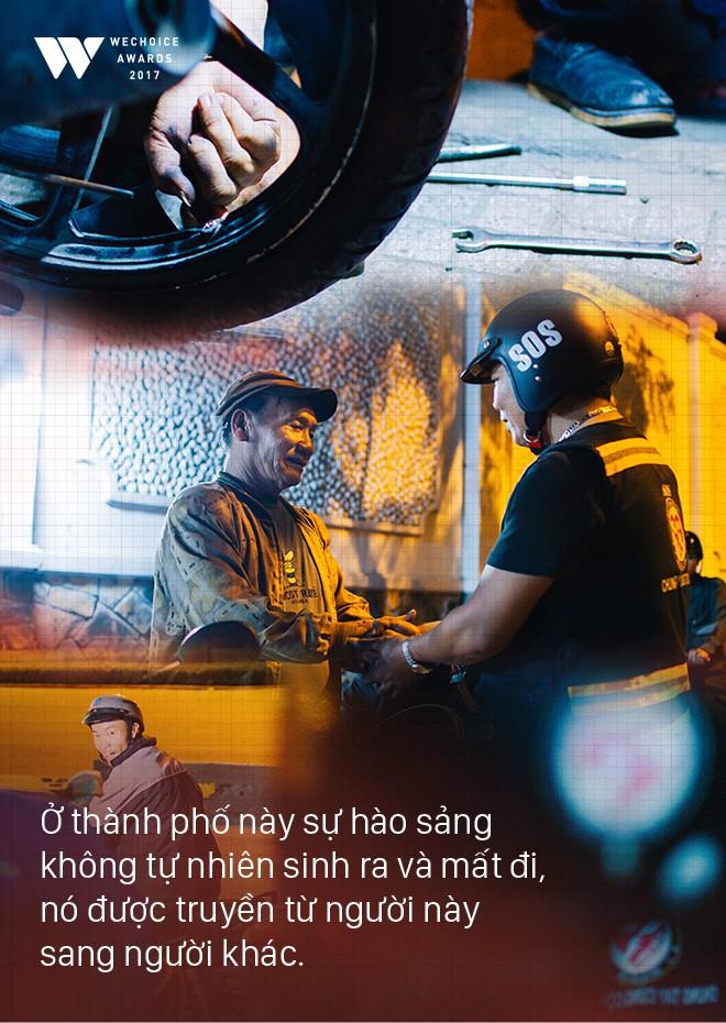Những chàng trai bao đồng trong biệt đội cứu hộ miễn phí lúc nửa đêm ở Sài Gòn: Chuyện nhỏ xíu thôi mà! - Ảnh 9.