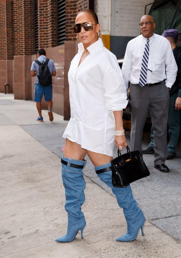 Thoạt nhìn, ai cũng tưởng Jennifer Lopez bị tụt quần trên phố nhưng hóa ra sự thật lại là... - Ảnh 8.