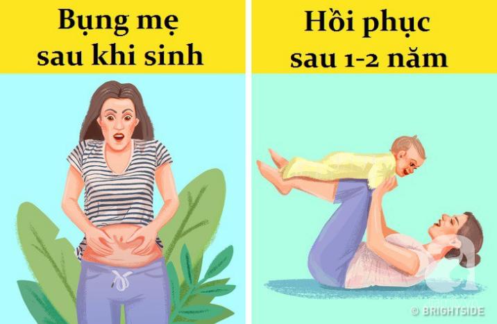 Những con số choáng váng về thời gian để cơ thể người mẹ có thể phục hồi sau khi sinh - Ảnh 1.