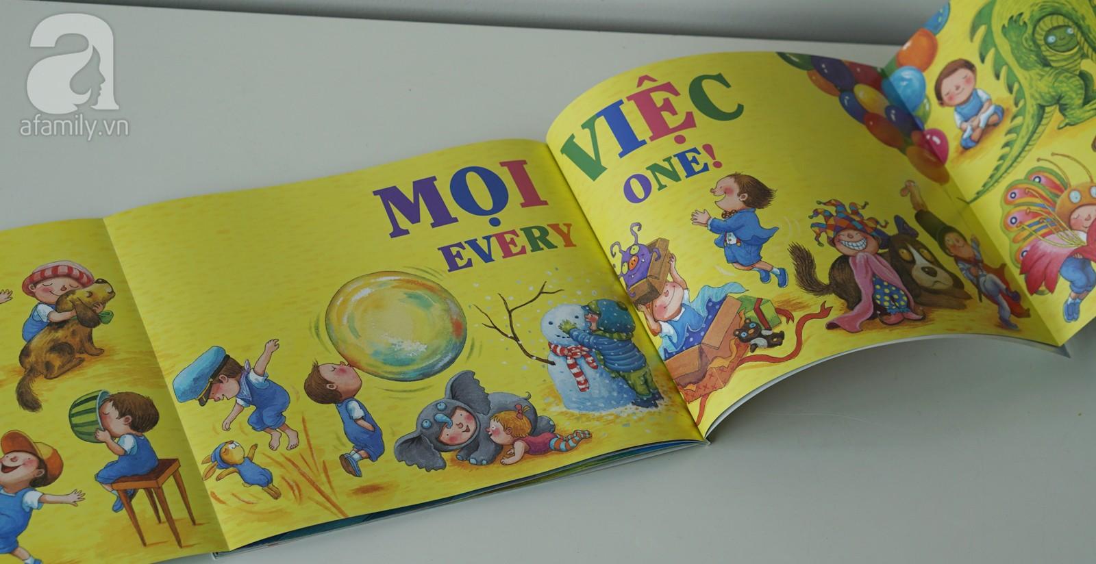 Muốn con học siêu tiếng Anh từ nhỏ, bố mẹ không thể bỏ qua những cuốn sách song ngữ này! - Ảnh 6.