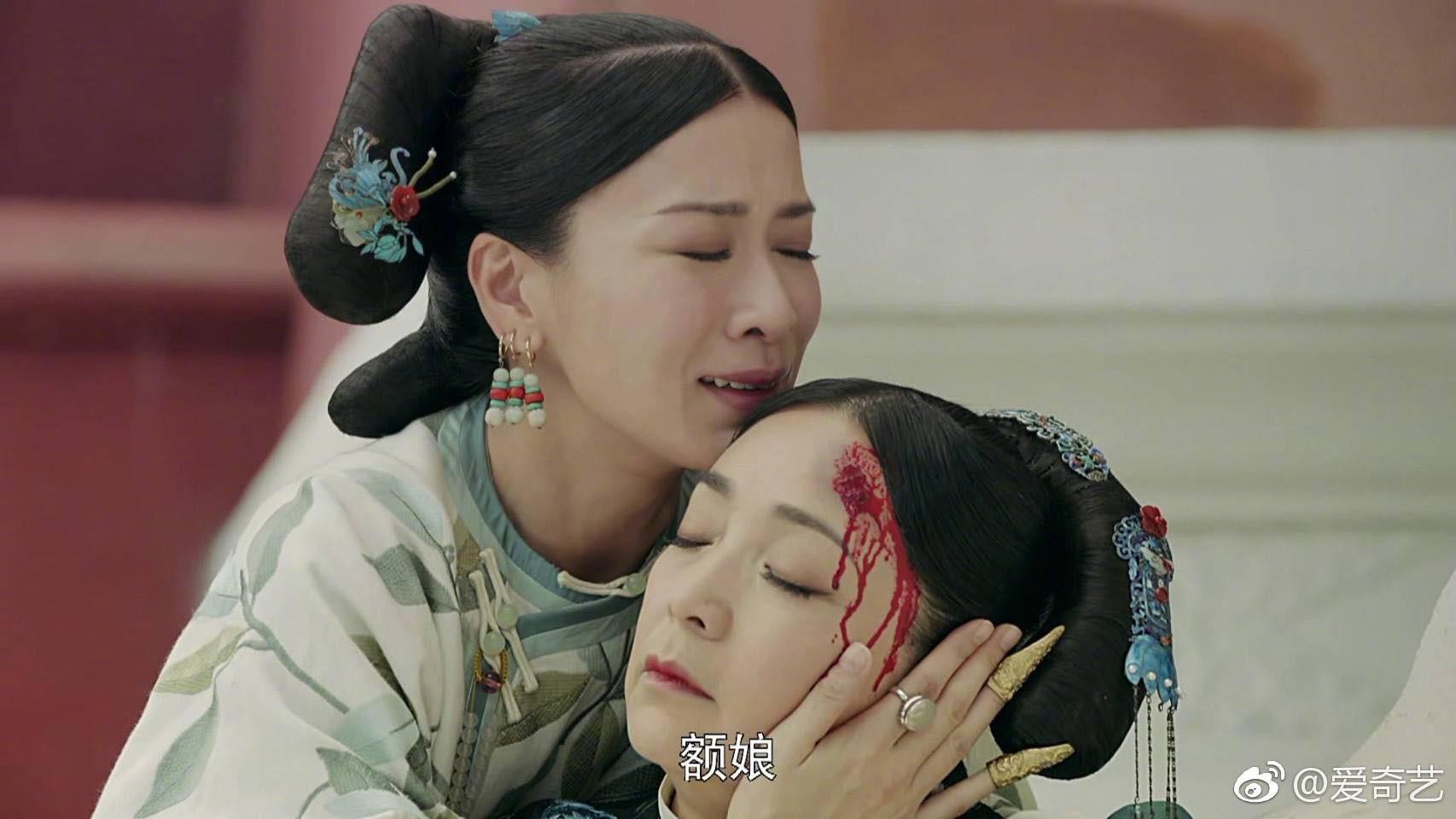 Khổ thân như Nhàn Phi - Xa Thi Mạn: Mặt hiền lành mà fan vẫn cứ cầu mong mau chóng ác, quét sạch hậu cung  - Ảnh 5.