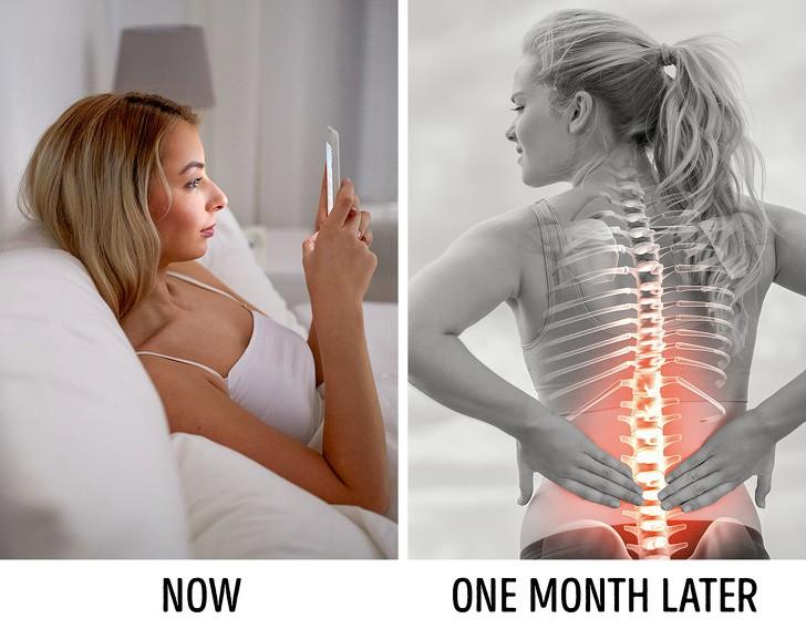 7 thói quen hàng ngày phá hủy cột sống của bạn dẫn đến những cơn đau lưng trầm trọng - Ảnh 3.
