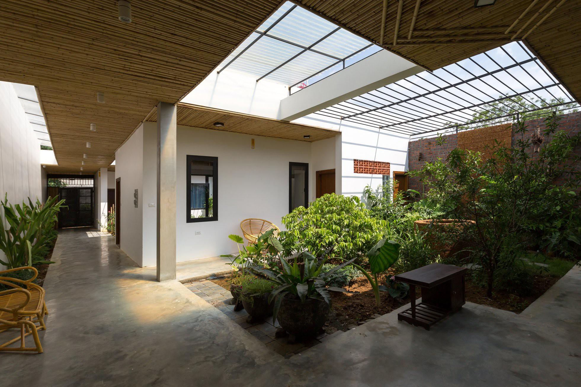 Ngôi nhà cấp 4 chan hòa ánh nắng và cây xanh mang lại vẻ yên bình đến khó tin ở Hà Nội - Ảnh 11.