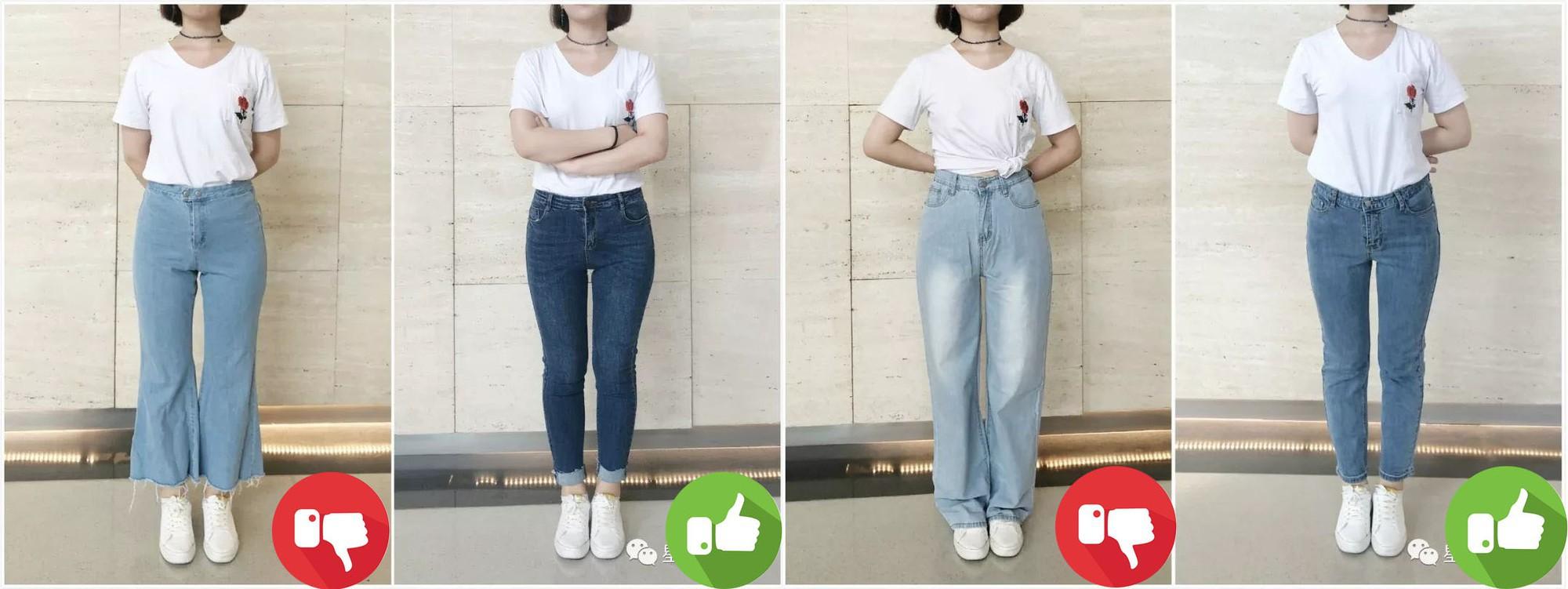 Đại diện các chị em mặc thử 8 loại quần jeans phổ biến, cô nàng này đã tìm ra loại tôn chân nịnh dáng nhất - Ảnh 9.
