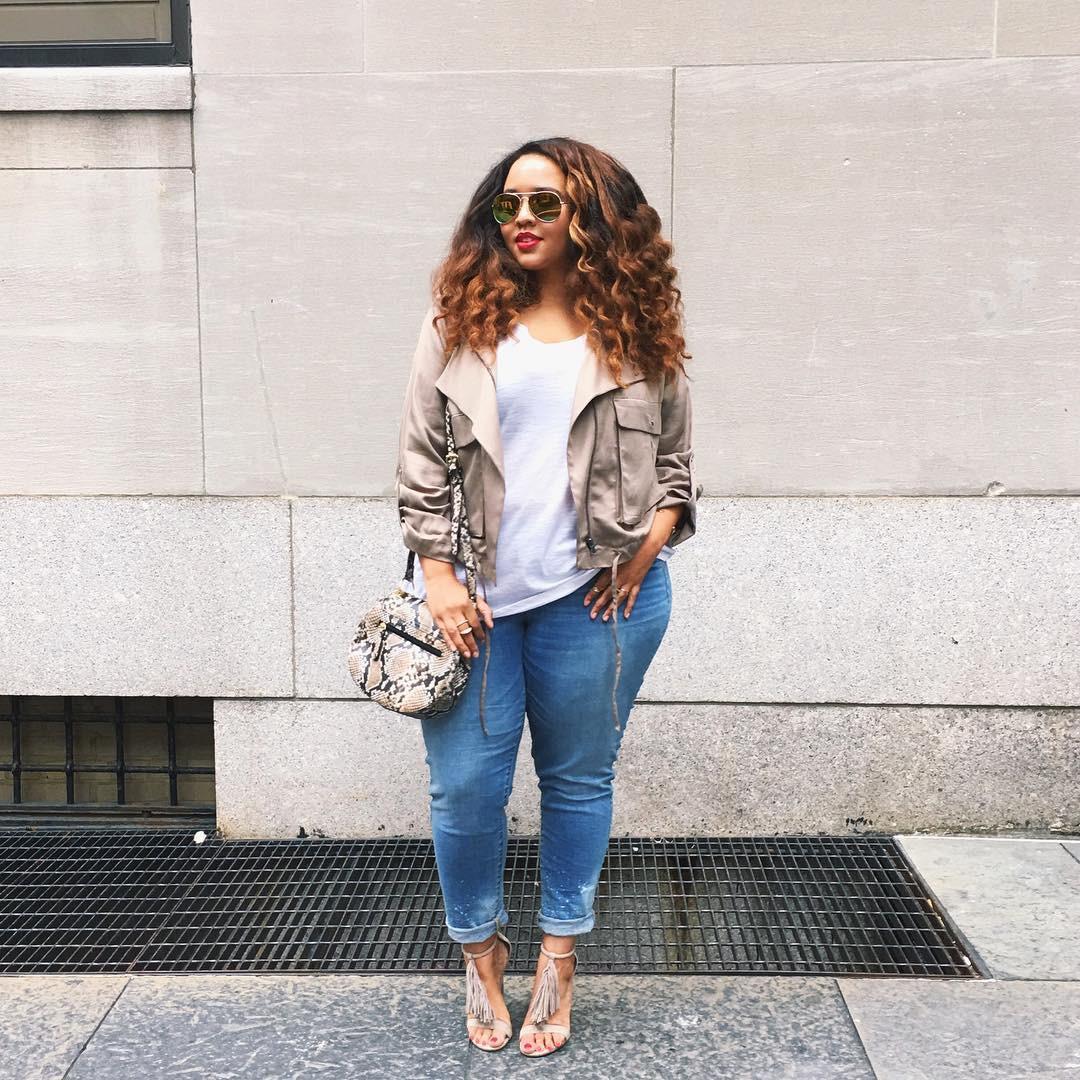 5 gạch đầu dòng cực dễ nhớ sẽ giúp hội chị em mũm mĩm vẫn tự tin diện quần jeans khỏe đẹp như ai - Ảnh 2.