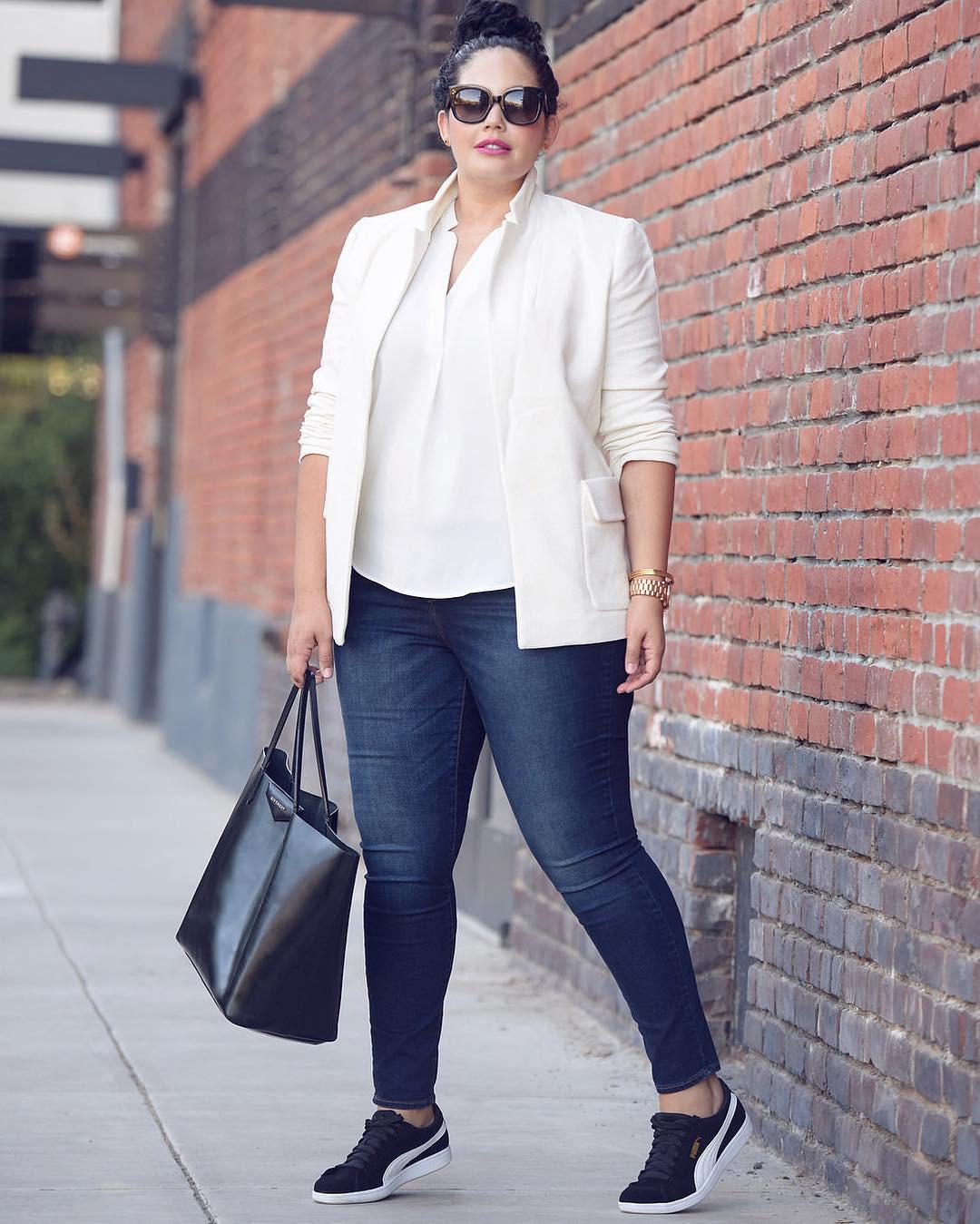 5 gạch đầu dòng cực dễ nhớ sẽ giúp hội chị em mũm mĩm vẫn tự tin diện quần jeans khỏe đẹp như ai - Ảnh 5.