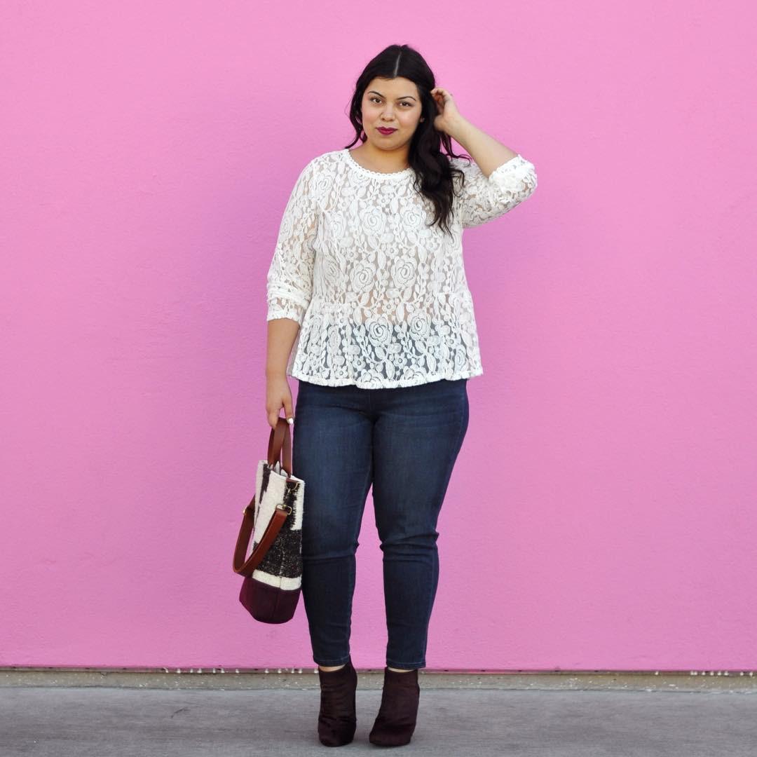 5 gạch đầu dòng cực dễ nhớ sẽ giúp hội chị em mũm mĩm vẫn tự tin diện quần jeans khỏe đẹp như ai - Ảnh 6.