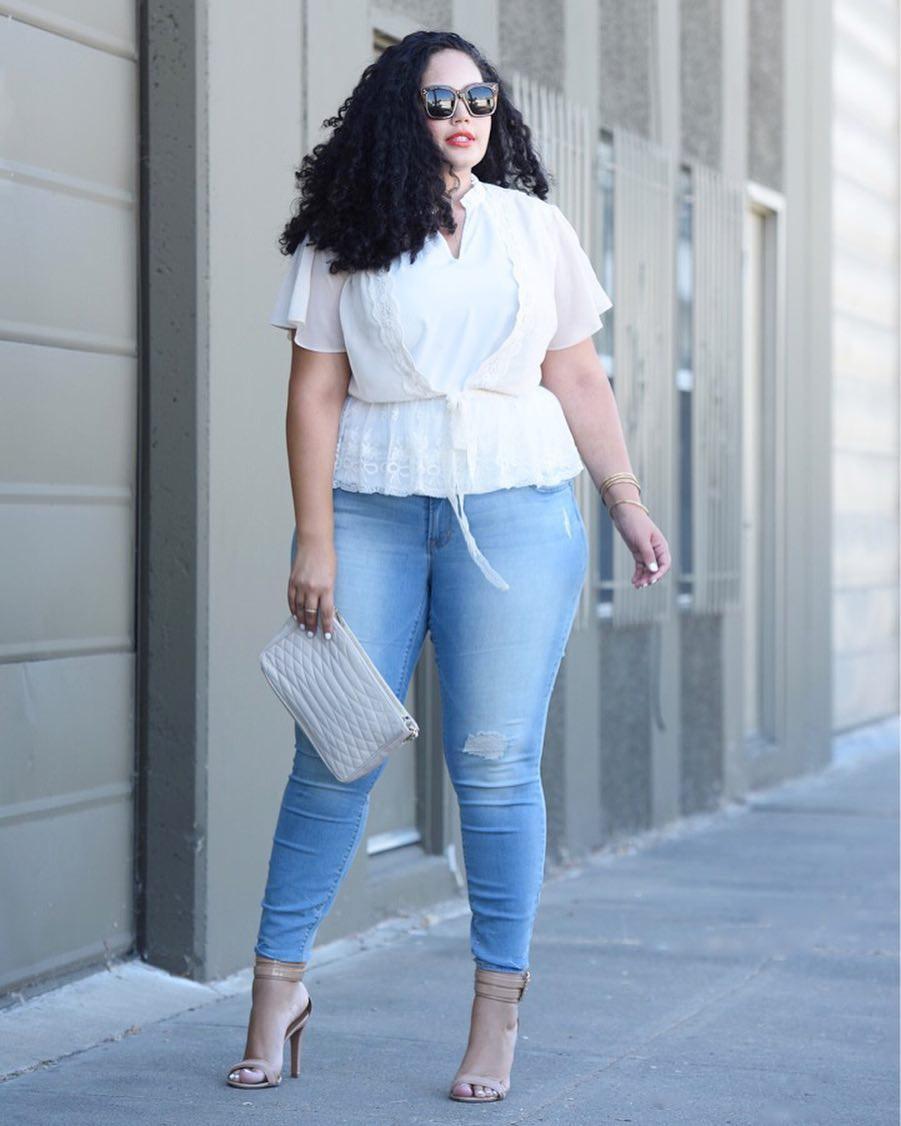 5 gạch đầu dòng cực dễ nhớ sẽ giúp hội chị em mũm mĩm vẫn tự tin diện quần jeans khỏe đẹp như ai - Ảnh 7.