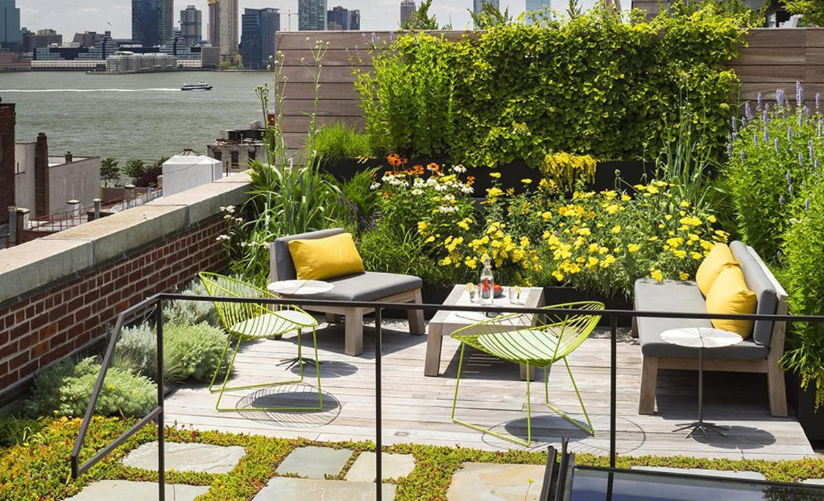 """Ngôi nhà của bạn sẽ chiếm """"spotlight"""" của cả khu phố chỉ nhờ khoảng sân thượng sang chảnh và xanh tươi thế này - Ảnh 8."""