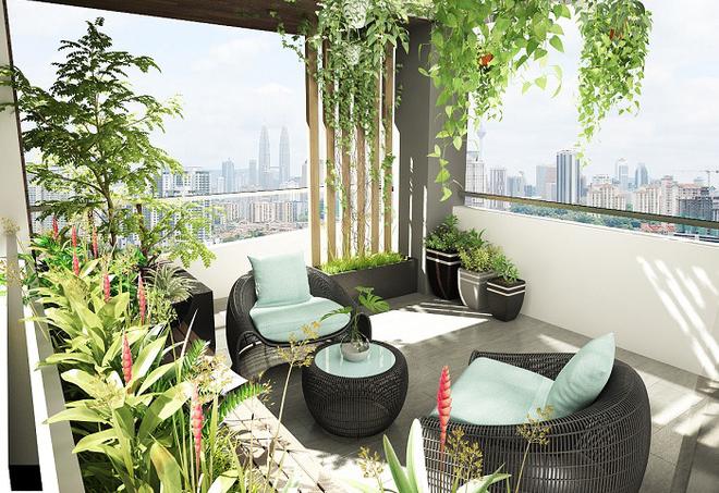"""Ngôi nhà của bạn sẽ chiếm """"spotlight"""" của cả khu phố chỉ nhờ khoảng sân thượng sang chảnh và xanh tươi thế này - Ảnh 4."""