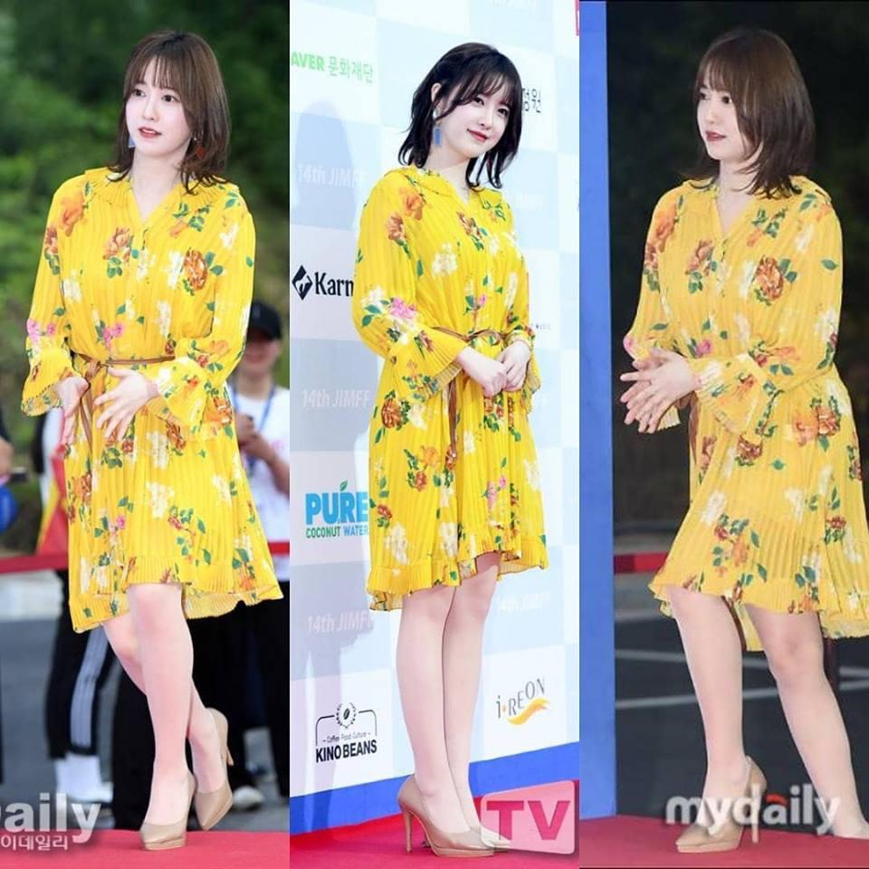 Giảm cân thành công nhưng Goo Hye Sun vẫn kém đẹp chỉ vì thói quen này khi diện váy ngắn - Ảnh 1.