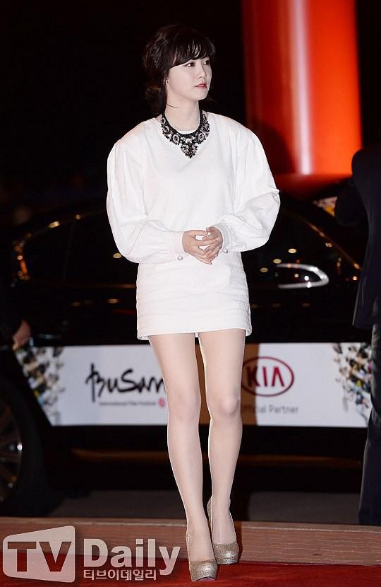 Giảm cân thành công nhưng Goo Hye Sun vẫn kém đẹp chỉ vì thói quen này khi diện váy ngắn - Ảnh 4.