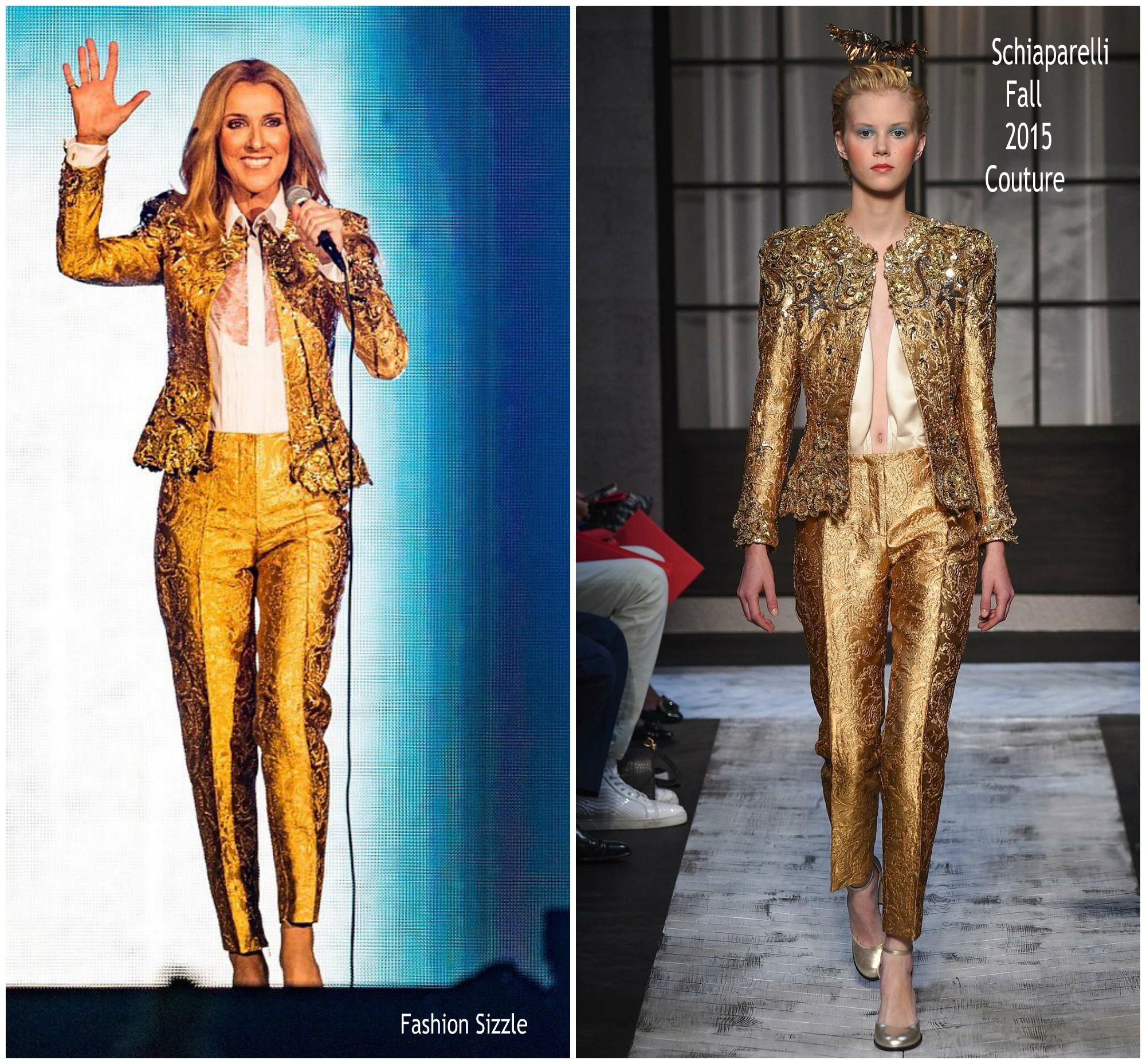 Siêu sao chẳng phải động tay vào cái gì? Nhầm to, đến Celine Dion còn phải tự khâu tất rách đây này! - Ảnh 2.