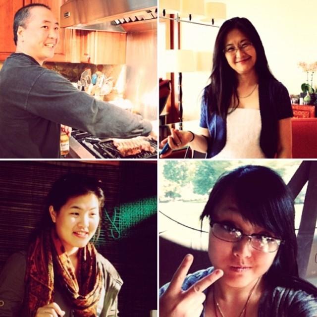 Gia đình hiếm có khó tìm trên thế giới: Cả 4 người nấu ăn ngon mê li, chụp ảnh đẹp đến ngất ngây, nhìn thôi đã phát thèm - Ảnh 1.
