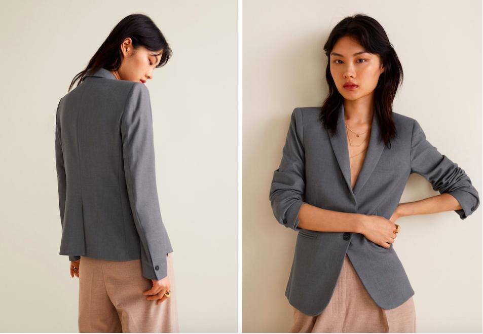 15 mẫu áo blazer của Zara, H&M... thanh lịch mà cực kỳ cá tính dành cho nàng công sở khi thời tiết đang chuyển từ hè sang thu - Ảnh 6.