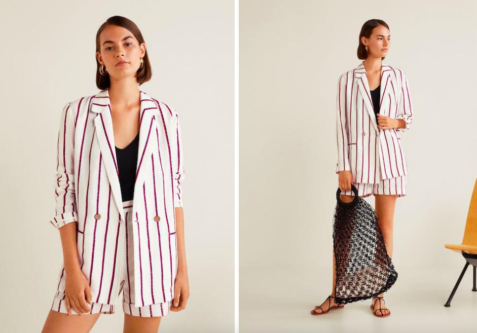 15 mẫu áo blazer của Zara, H&M... thanh lịch mà cực kỳ cá tính dành cho nàng công sở khi thời tiết đang chuyển từ hè sang thu - Ảnh 7.