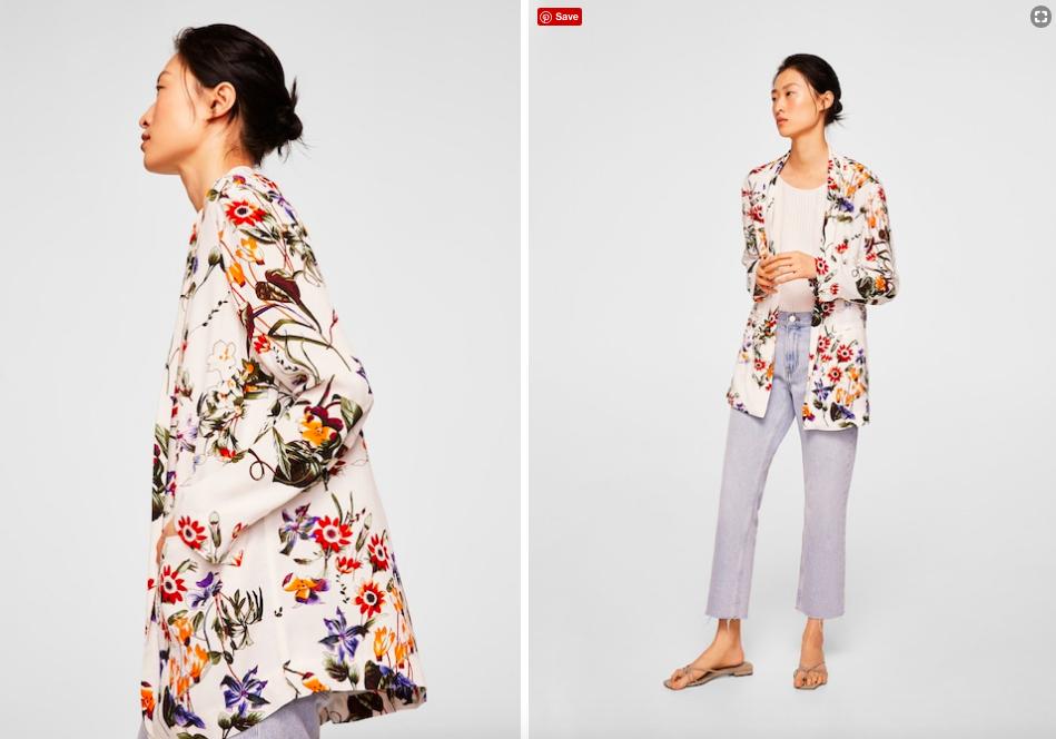 15 mẫu áo blazer của Zara, H&M... thanh lịch mà cực kỳ cá tính dành cho nàng công sở khi thời tiết đang chuyển từ hè sang thu - Ảnh 8.