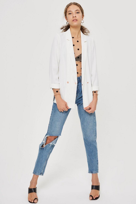 15 mẫu áo blazer của Zara, H&M... thanh lịch mà cực kỳ cá tính dành cho nàng công sở khi thời tiết đang chuyển từ hè sang thu - Ảnh 15.
