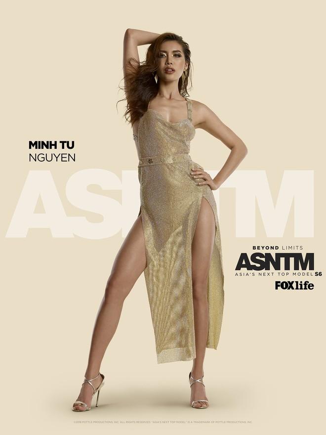 Minh Tú chính thức sang Thái Lan tham dự họp báo Asias Next top Model  - Ảnh 2.
