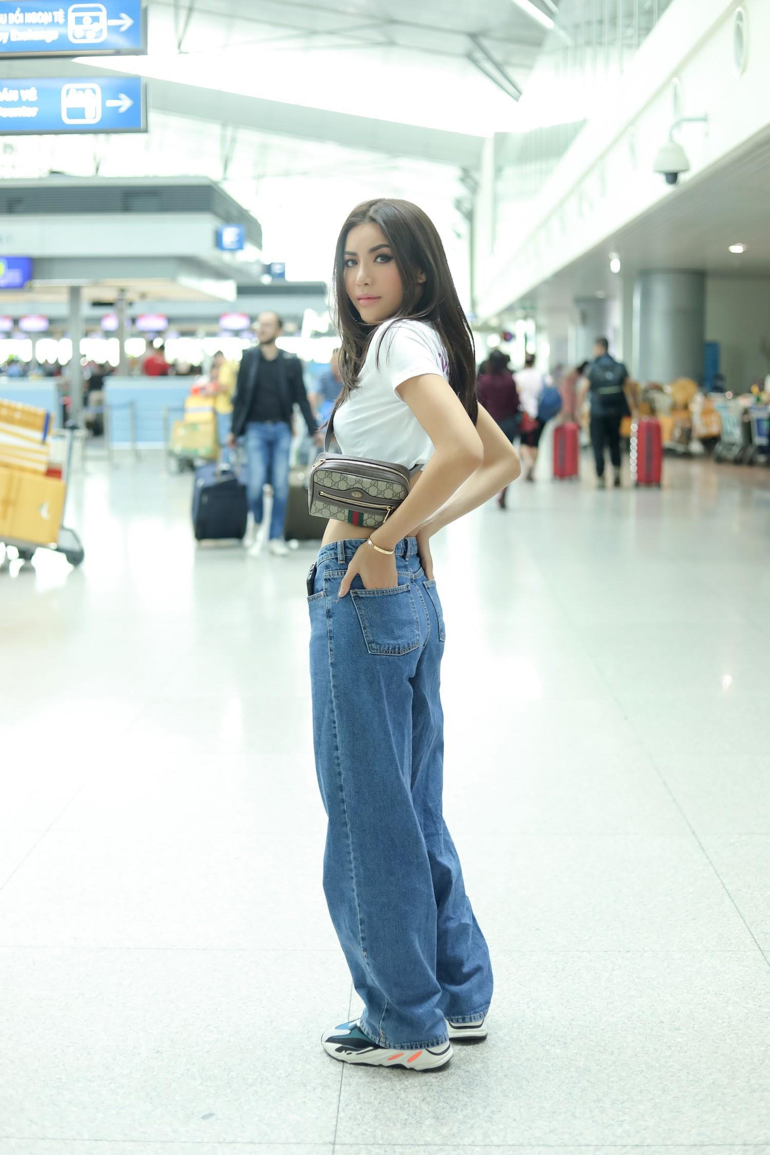 Minh Tú chính thức sang Thái Lan tham dự họp báo Asias Next top Model  - Ảnh 11.