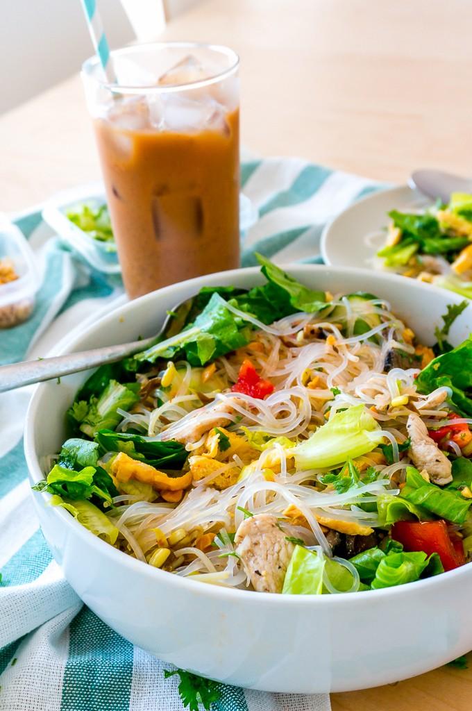 Công thức làm món bún trộn kiểu Thái vạn người mê - Ảnh 6.